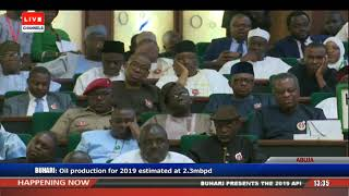 Download President Buhari Presents 2019 Appropriation Bill To NASS Pt.3 |Live Event| Video