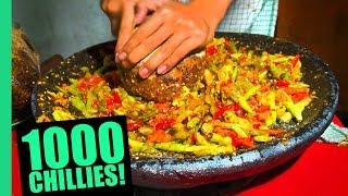 Download EXTREME Spicy Food Challenge in Jakarta! HUGE 32 Kinds of Sambal and LEVEL 5 Seblak! Video