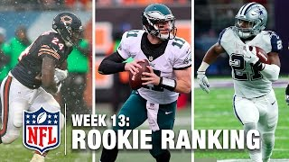 Download Top 10 Rookies Through Week 13 | Bucky Brooks on NFL Now | NFL Video