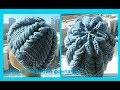 Download Шапка″ Голубая фантазия″,how to crochet a hat ( Ш № 87) Video