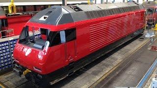 Download SBB Industriewerk Yverdon-les-Bains. Video