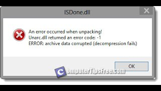 Download How to fix ISDone.dll Error 100% work lكيفية حل مشكلة Video