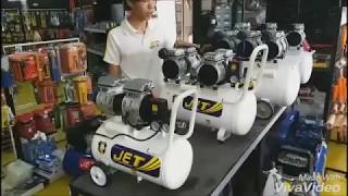 Download ทดสอบปั้มลม JET เสียงเงียบ และ โรตารี่ BY PUMA Video