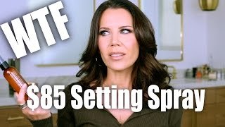 Download $85 MAKEUP SETTING SPRAY ... WTF !!! Video