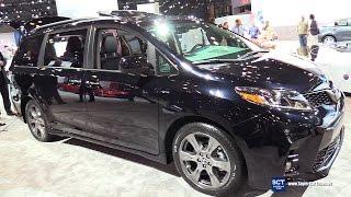 Download 2018 Toyota Sienna SE - Exterior and Interior Walkaround - Debut at 2017 New York Auto Show Video