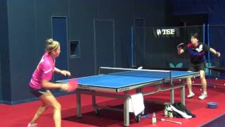 Download Table Tennis at WSA: Modern Chopper Practice with Tetyana Bilenko Video