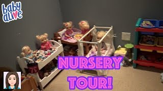 Download Updated Baby Alive Nursery Tour! New Nursery! Video