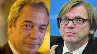 Download WATCH This!Verhofstadt LABELS Nigel Farage ″A WASTE″,Gets OWNED Instantly Video