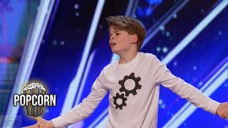 Download America's Got Talent 2017 Merrick Hanna 12 Year Old's Captivating Dance Performance Full Audition S Video
