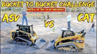 Download Caterpillar 289D vs ASV 75- Battle of the 74 hp skid steers Video