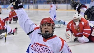 Download Russia Vs Korea highlights | Ice Sledge Hockey | Sochi 2014 Winter Paralympic Games Video