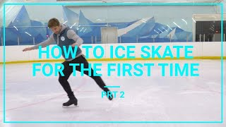 Download How To Ice Skate And Glide For Beginners For The First Time Learn To Skate Tutorial prt 2 Video
