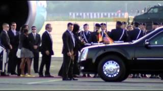 Download Raw: Obama Arrives in Berlin Video