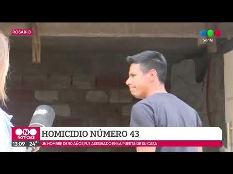 Violencia en Rosario: ya son 43 los homicidios en lo que va del año