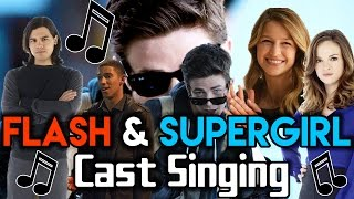 Download The Flash & Supergirl Cast Singing | Part 1 Video