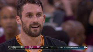 Download NBA Games of the Year - San Antonio Spurs at Cleveland Cavaliers from 01/21/2017 Video