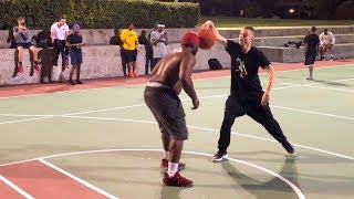 Download Professor vs Smack Talker 1v1 Houston Hood Court.. GETS CALLED OUT, forced duel Video