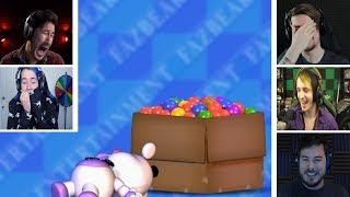 Download Let's Players Reaction To Playtesting The Ball Pit | Fnaf 6 (Freddy Fazbear's Pizzeria Simulator) Video