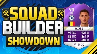 Download FIFA 17 SQUAD BUILDER SHOWDOWN!!! PLAYER OF THE MONTH HAZARD!!! Purple Hazard Squad Duel Video