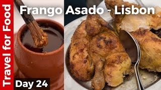 Download Flying on TAP Portugal and Roast Chicken (Frango Assado) in Lisbon! Video