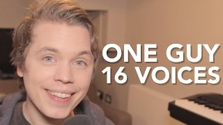 Download One Guy, 16 Voices Video