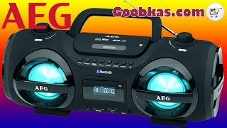 Download Магнитола с CD/MP3/Bluetooth/USB - AEG SR 4359 BT Radioodtwarzacz Radiomagnetofon | Goobkas Video