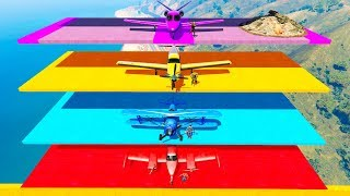 Download LEARN COLORS AND NUMBERS Superhero Planes and Motorcycles for Kids Video