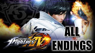 Download KING OF FIGHTERS XIV ALL TEAM ENDINGS Video
