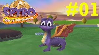 Download Spyro: Year of the Dragon - Part 1: Intro & Sunrise Spring Home Video