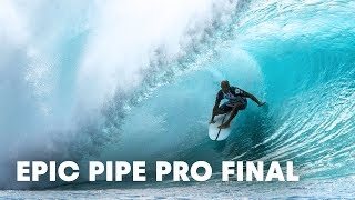 Download Slater, O'Brien, McNamara and Irons Face Off in Epic 2016 Pipe Pro Final Video
