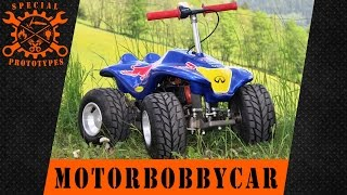 Download Red Bull Motorbobbycar Video