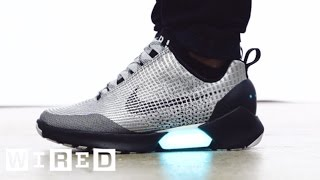 Download Meet the HyperAdapt, Nike's Awesome New Power-Lacing Sneaker | WIRED Video