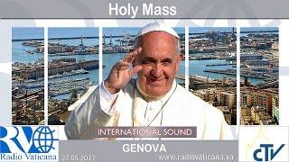 Download 2017.05.27 Pope Francis in Genoa - Eucharistic Concelebration Video