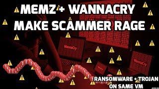 Download Wannacry + Memz make scammer rage Video