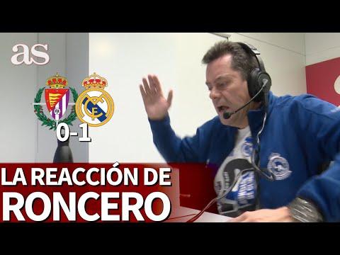 Valladolid 0- Real Madrid 1 | La reacción de Roncero con el gol de Nacho Fernández | Diario AS