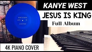 Download Kane West - JESUS IS KING | Piano Cover - Full Album Video