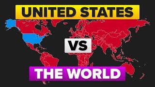 Download The United States (USA) vs The World - Who Would Win? Military / Army Comparison Video