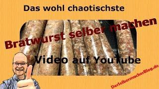 Download Bratwurst selber machen ▶▶ Das vielleicht chaotischste Wurstvideo auf Youtube! Video