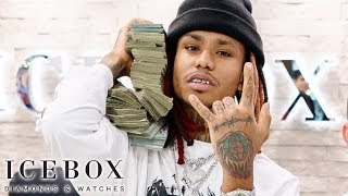 Download Lil Gnar Brings $100K, Negotiates For $50K Rolex Video