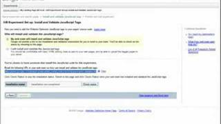Download A/B Experiments with Google Website Optimizer Video