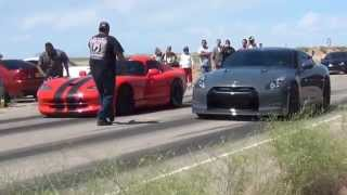 Download Street Race ProCharged Viper, Built ZL1 Camaro, TSM Alpha 12 GT-R Street Racing Video