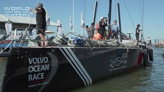 Download Sun Hung Kai/Scallywag Arrives in Itajai Brazil for the Start Leg 8 Volvo Ocean Race to Newport R.I. Video
