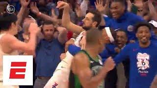 Download Celtics vs. 76ers Game 3: The wild final 10 seconds of regulation | ESPN Video