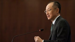 Download World Bank President Outlines Strategy to End Poverty, Welcomes New Development Partners Video