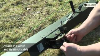 Download TM128 Deployment- 15m Telescopic crank-up aluminum mast Video