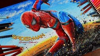 Download Drawing Spider-Man Homecoming / lookfishart Video