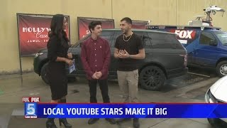 Download I WAS ON THE NEWS!! Video