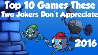 Download Top 10 Games These Two Jokers Don't Appreciate Video