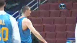 Download Kevin Love amazing practice shots 2008 Video