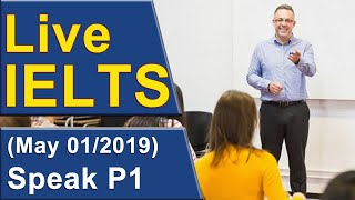 Download IELTS Live - Speaking Part 1 - Band 9 Practice Video